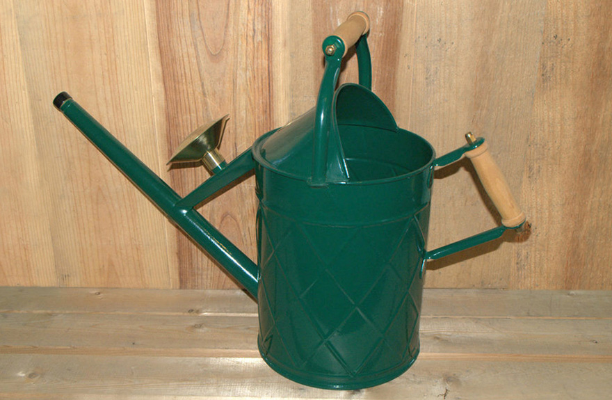 The Haws Heritage Metal Outdoor Watering Can